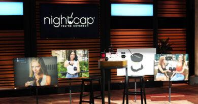 Nightcap Shark tank