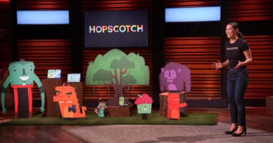 Hopscotch Update Shark Tank