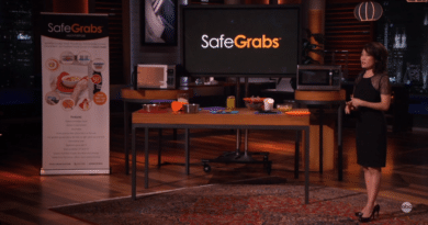 Safe Grabs Update Shark Tank
