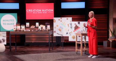 Creation Nation Update Shark Tank