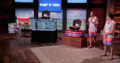 float 'n' grill update shark tank