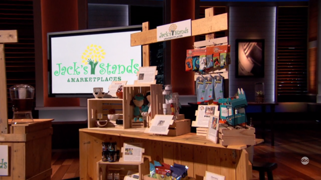 Jack's Stands and Marketplaces Update Shark Tank