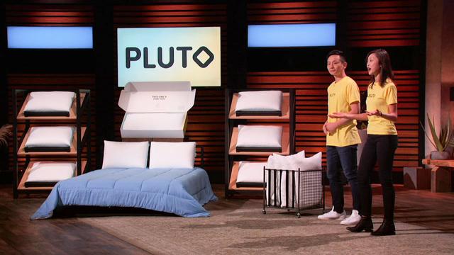 pluto pillow update shark tank